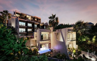 PH-A17-3bdr-1, Penthouse 3 bedroom duplex of the best seaview in the Patong, Phuket
