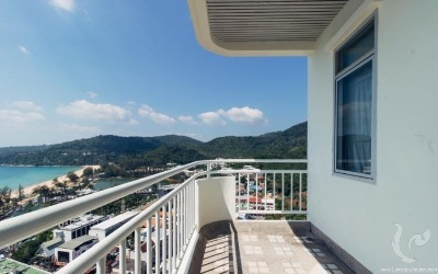 One Bedroom Penthouse Seaview Condominium in Karon, Phuket