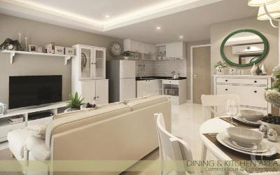 PH-C107-2bdr-1, New development condominium with great guarantee rental in Naiyang