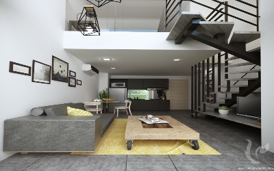 The Modern Loft Condominium in the heart of Naiharn