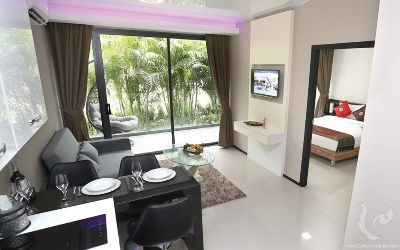 PH-C149-1bdr-1, Stylish, Modern 1 bedroom Condo in Rawai, Phuket