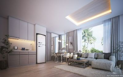 2 bedrooms modern with sea view condominium in Kamala, Phuket