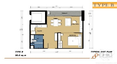 PH-C18-1bdr-1, Condominium 1ch Kamala - Phuket