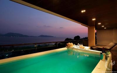 The Elegant 1 Bedroom Seaview Apartment in Patong