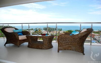 2 Bedroom Sea view Condominium For Sale In Karon,Phuket