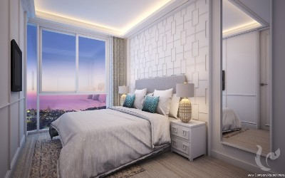 The Elegant Seaview Condominium in Patong