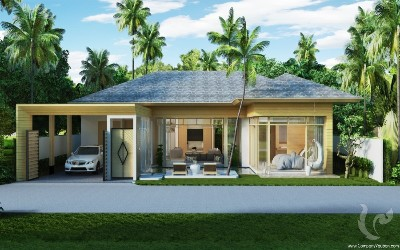 Private Luxury Pool Villa in Kamala