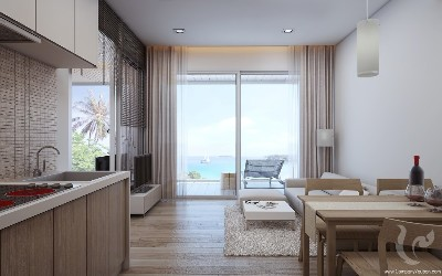The Exclusive Seaview Condominium in Naka Beach