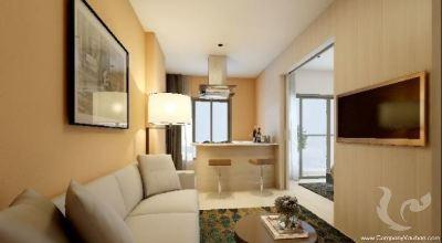 La résidence de style resort pour bon investissement dans patong
