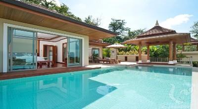 1 Chambre VUE MER Villa à Kamala-Phuket