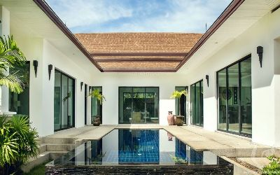 3 Bedrooms Private Pool Villa in Paklok, Phuket