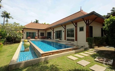 3 Bedrooms Private Pool Villa For Sale In Naiharn