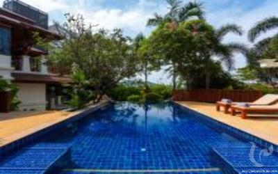 Luxury 3 BDR Villa with Sae View@ Patong