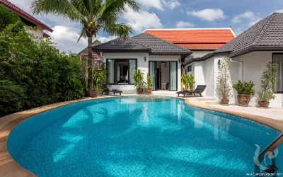 3 Bedrooms Private Pool Villa For Rent in Kamala