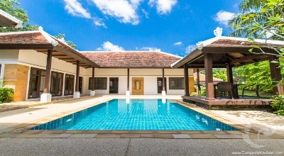 PH-V-4bdr-31, Beautiful 4 bedroom Villa in Secured Estate Bangtao - Phuket