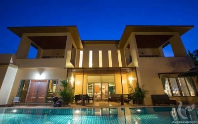 Four Bedroom Modern Villa for Rent in Rawai