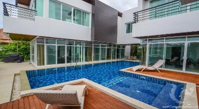 PH-V-5bdr-24, Large 5 Bedroom Hill Top Villa in Rawai - Phuket