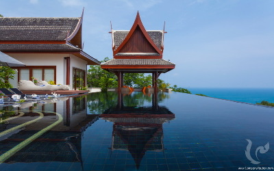 The Elegant Seaview Pool Villa in Surin