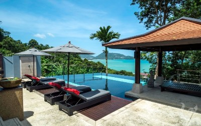 Kalim Sea View 9 bedroom villa in Patong Beach