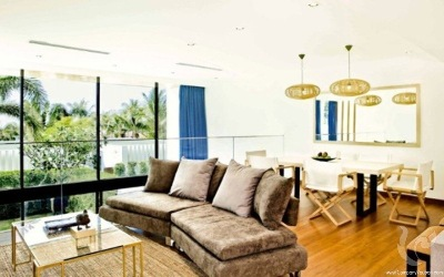Two bedrooms duplex villa in Natai beach