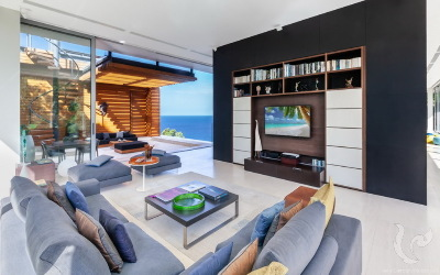 The Luxury Oceanfront Villa for holiday in Kamala
