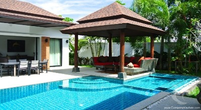 PH-V64-3bdr-1, The Balinese Private Pool Villa at Thalang
