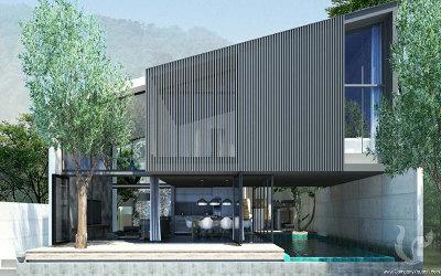 Luxury Private Pool Villa in quiet area of Kamala