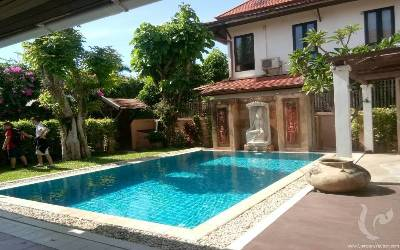 PT-V103-3bdr-1, Beautiful 3 bedrooms Balinese style villa for rent!