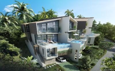 Une villa de luxe avec piscine privée