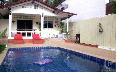 SA-V-2bdr-120, 2 bdr VILLA SWIMMING POOL Lamai