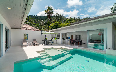 SA-V-2bdr-151, Attractive 3 bedrooms pool villas in Lamai