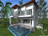 3 bdr Villa for sale in Samui - Maenam