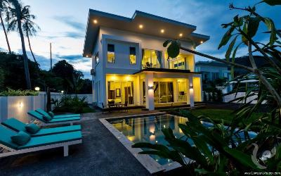 Beautiful new pool villa in Laem Sor