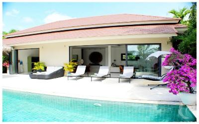 Sabai Luxury villa for long term rental in Maenam