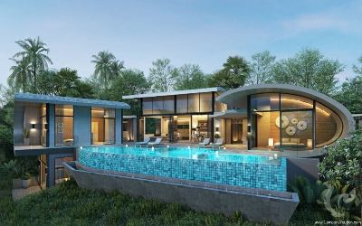 SA-V-3bdr-280, Lux Villas : luxury and elegance embodied in exotic seaview villas