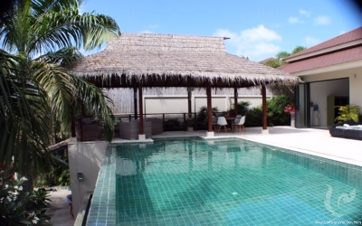 Luxury Styled Private Villa with Infinity Pool in Maenam