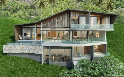 Modern KW Villas with Stunning Tropical Sea View