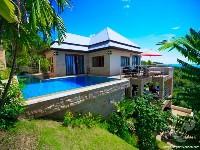 Villa on sunny day
