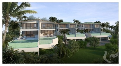 SA-V-4bdr-65, Duplex villas for sale in Plai Leam