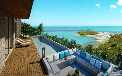 Luxury villa with amazing seaview