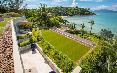 Stunning and unique beachfront villa, one of the most luxurious properties on Samui