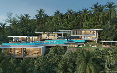Kalessan Villas : High end villas, sustainable construction, unique VIP services & stunning seaviews