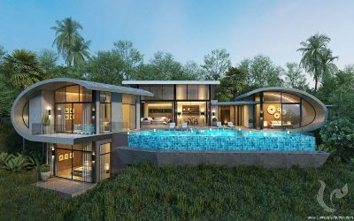 Lux Villas : luxury and elegance embodied in exotic seaview villas