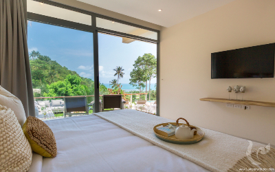 Bijou Villa :  a private estate of luxury pool villas with views over the turquoise seas of Lamai